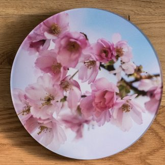 Cherry Blossom - Round Acrylic Glass
