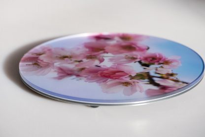Photo detail of Cherry Blossom photo print under acrylic glass