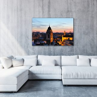 Photo of Brussels Sunset Canvas (Medium-Large)