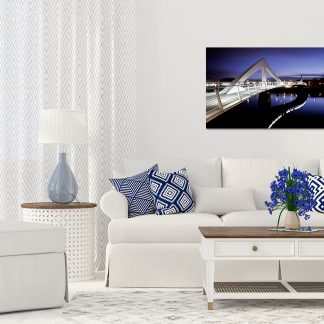Squiggly Bridge Canvas (Medium-Large)