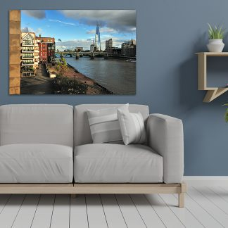 London Thames Cityscape - Canvas