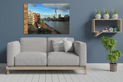 London Thames Cityscape - Canvas
