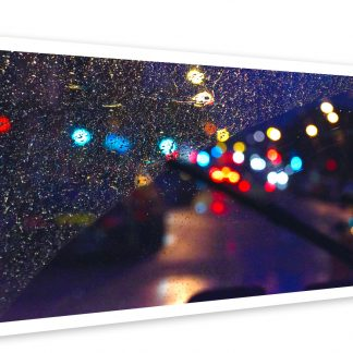 Thumbnail of Rainy Gorbals Night - photo print
