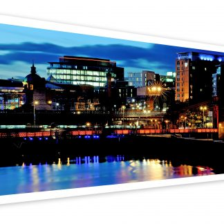 Thumbnail of City Lights Glasgow - photo print