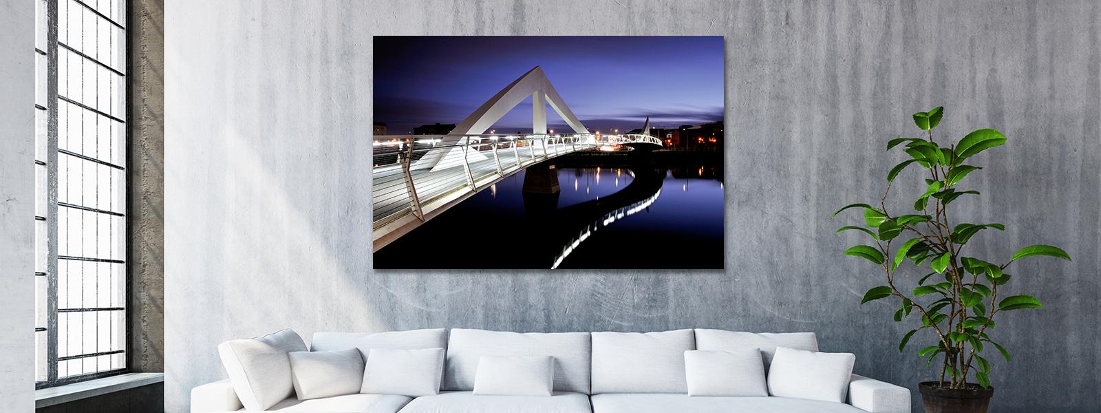 Photo of Squiggly Bridge Dusk on wall