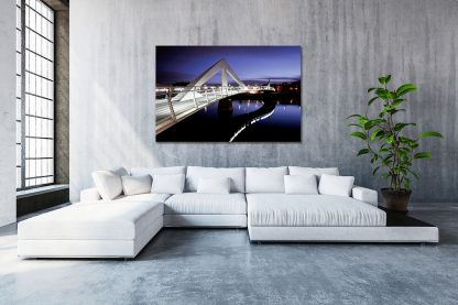 Photo of Squiggly Bridge Canvas (XL-Massive)