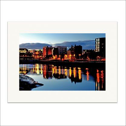 Broomielaw Glasgow - mounted print thumbnail