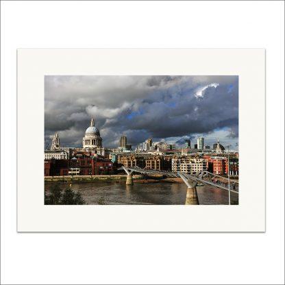 London Skyline - mounted print thumbnail