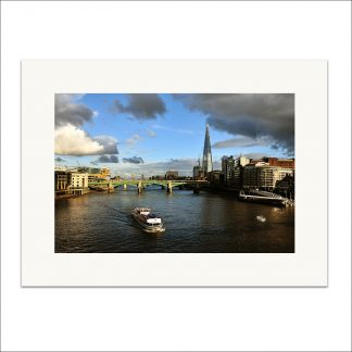 Sunny London - mounted print thumbnail