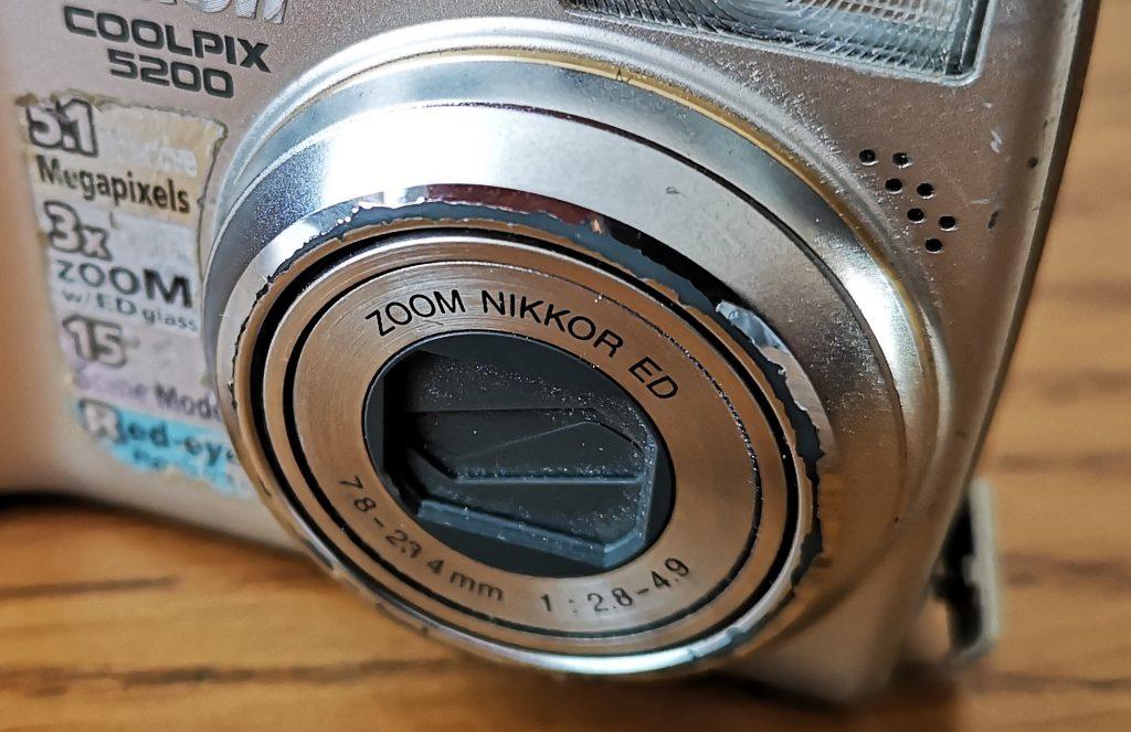 Nikon Coolpix close up