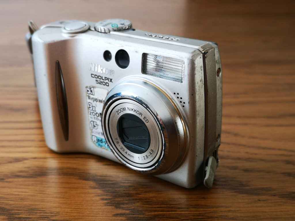Nikon Coolpix captured by Huawei P20 Pro