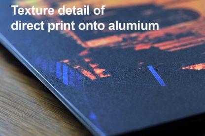 Aluminium texture detail