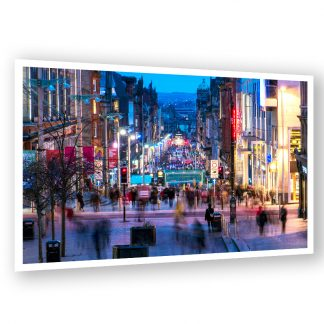 Buchanan Street Glasgow Dusk - Photo print