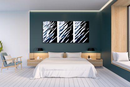 Water Music Canvas one-piece Triptych