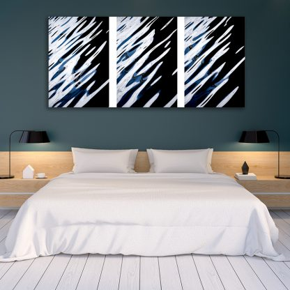 Water Music Canvas one-piece Triptych