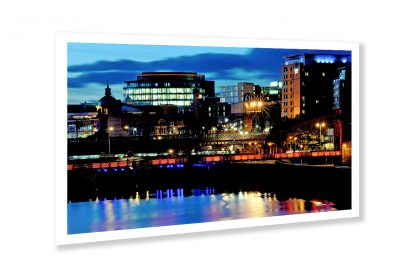 Glasgow City Lights - photo print