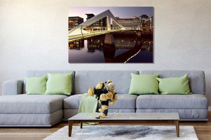 Squiggly Bridge Sunset - Acrylic Glass